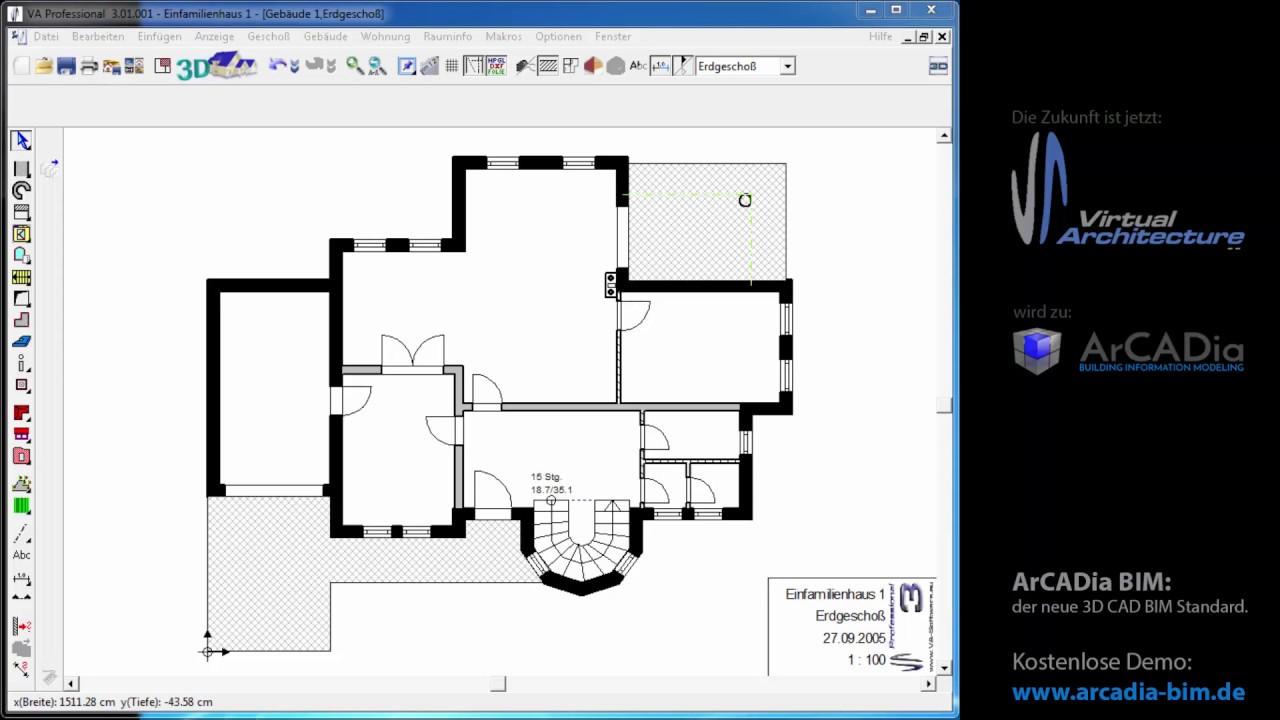 konstruktionselemente einfache hilfslinien im grundriss. Black Bedroom Furniture Sets. Home Design Ideas