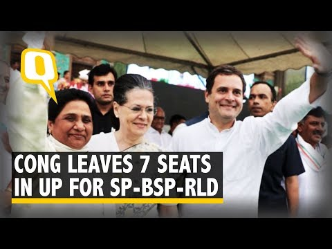 LS Polls: Cong Returns Favour, Leaves 7 Seats for SP-BSP-RLD in UP Mp3