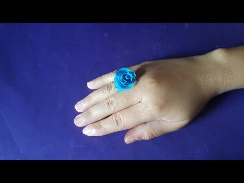 Beautiful Flower Ring | Easy DIY Arts and Paper Craft for Kids