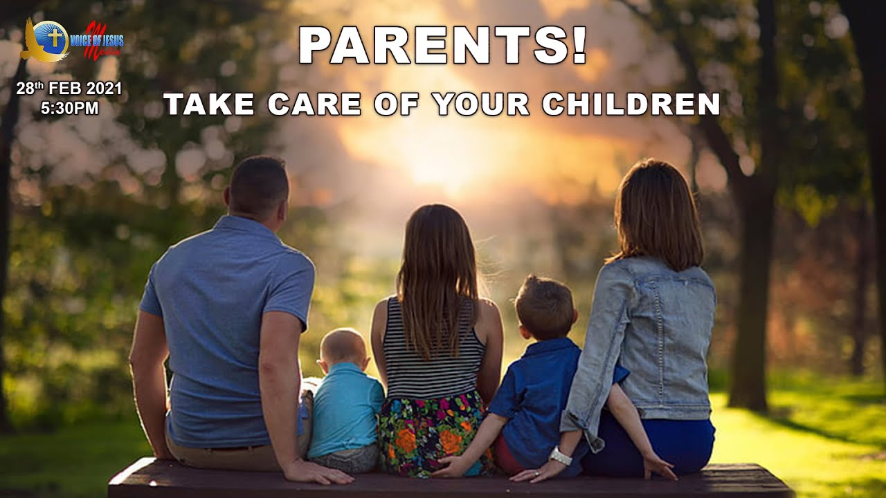 PARENTS! Take care of your children | Snippets | Bro Vincent Selvakumaar