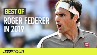 Roger Federer's Best ATP Shots in 2019 | ATP