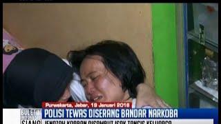 Duka keluarga Bripka Taufik Hidayat, polisi pemberantas narkoba - BIS 20/01