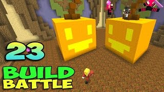 ч.23 Minecraft Build Battle - Бабочка и Тыква Джек