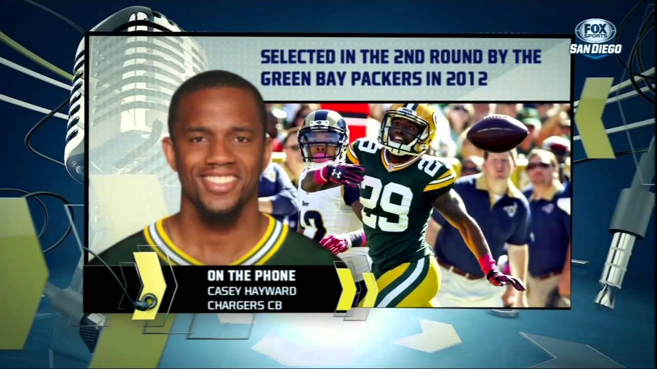 "San Diego is the ""perfect place to be"" Casey Hayward"