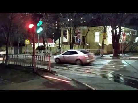 Нано технологии... Новые наземные светофоры в Новороссийске