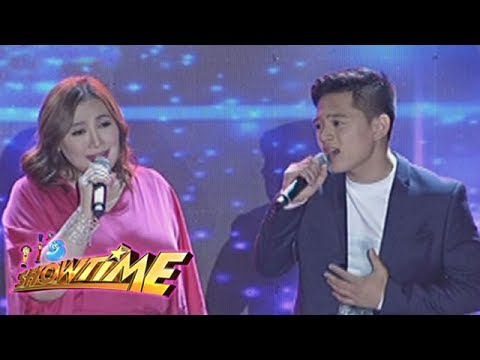 "It's Showtime: Sharon Cuneta and Jeremy Glinoga sing ""Sana Maulit Muli"""