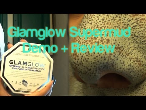 Glamglow Supermud Review (Update:Work, Spider Bites, and Halloween Requests)