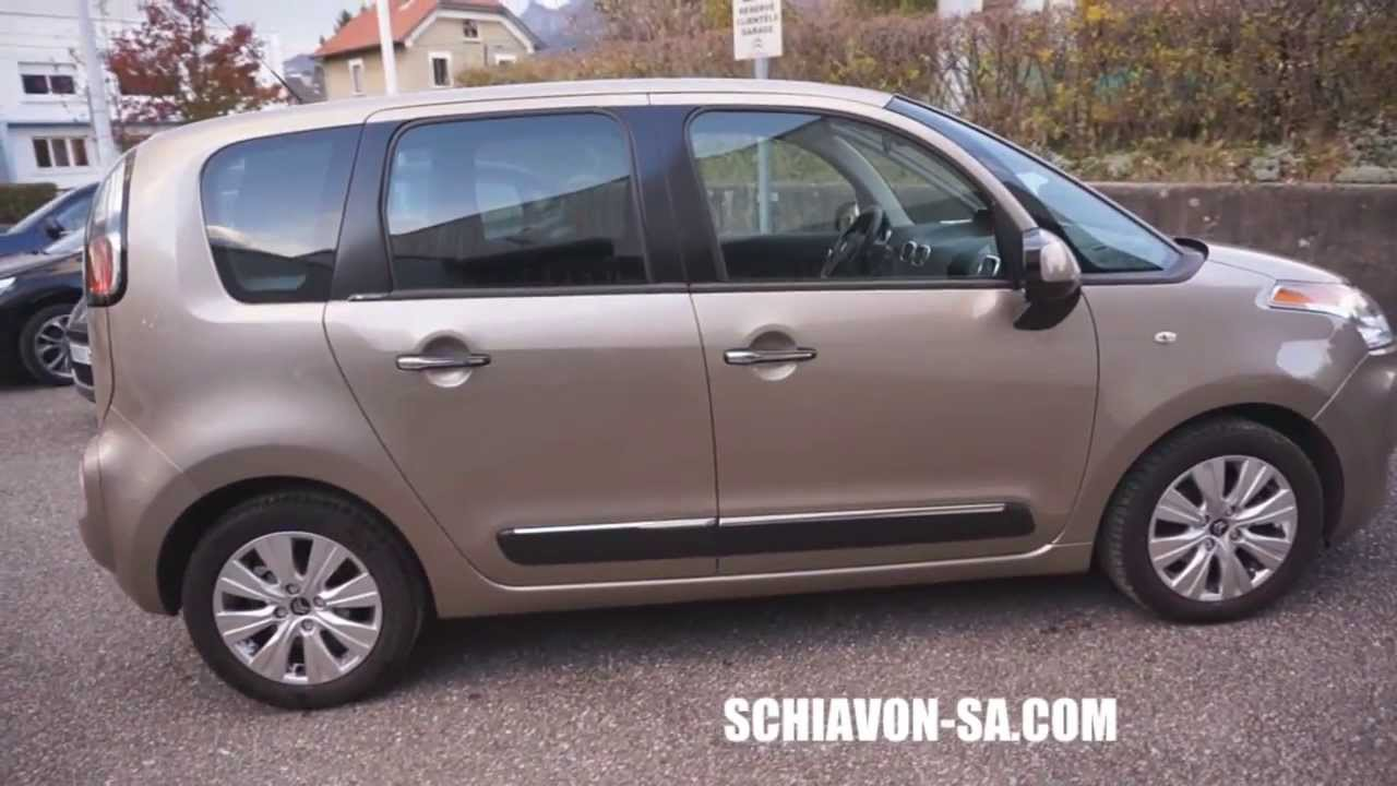 achat citroen c3 picasso occasion chambery schiavon youtube. Black Bedroom Furniture Sets. Home Design Ideas