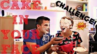 CAKE IN YOUR FACE CHALLENGE!   ТОРТ В ЛИЦО! ВЫЗОВ!   SWEET HOME