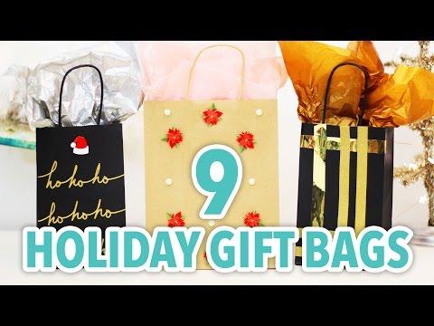 9 DIY Holiday Gift Bags - HGTV Handmade