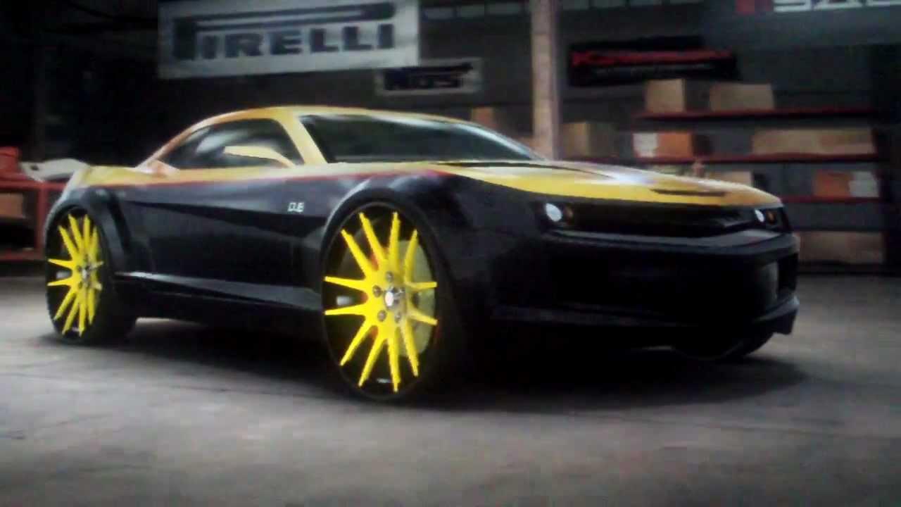 Midnight Club L A Camaro Concept Richnruley Youtube