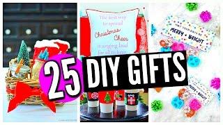 25 Diy Christmas Gifts! For Friends, Family, Boyfriend, Mom, Dad