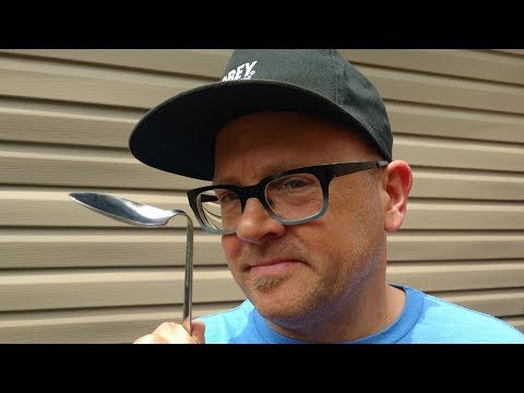 DO IMPOSSIBLE 'BENT SPOON' MAGIC TRICK WITH ANY SPOON! (NEW SECRET METHOD!)