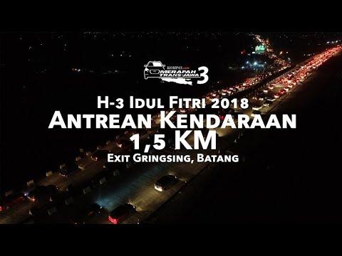 H-3 Idul Fitri 2018 Antrean Kendaraan 1,5 KM di Gringsing