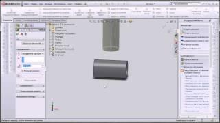 SolidWorks Урок 3. Создание 3D детали.(В этом уроке будут показаны основные принципы создания трехмерных деталей и основных геометрических фигур., 2013-02-05T10:38:08.000Z)