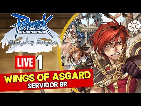 Ragnarok (Servidor Wings of Asgard) Ao vivo #1 - Vem jogar com a gente!