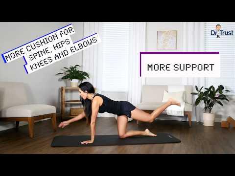dr-trust-usa-nbr-thick-cushioned-yoga-mat-309---black