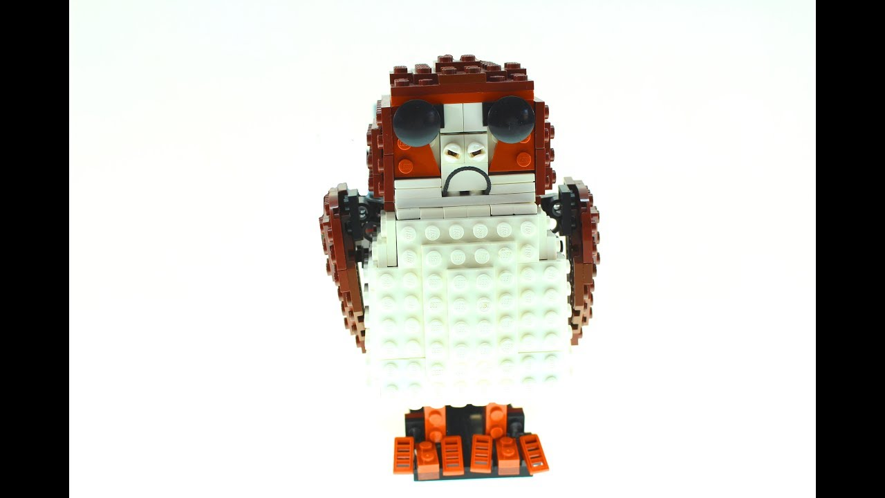 LEGO Porg Kinetic Sculpture (Star Wars 8 The Last Jedi ...