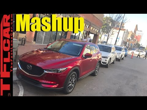 2017 Mazda CX-5 vs BMW X1 vs Audi Q3 vs Lexus NX vs Mercedes-Benz GLA Mashup Review