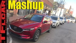 2017 Mazda CX-5 vs BMW X1 vs Audi Q3 vs Lexus NX vs Mercedes-Benz GLA Mashup Review