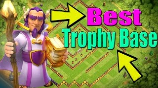 Clash of Clans | TOWN HALL 11 UPDATE BASE 2017 | TH11 Trophy Base! in LEGEND