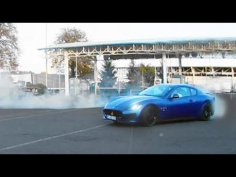 Maserati Granturismo S ile Duman Dumana