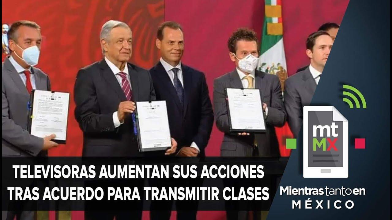 Televisa y TV Azteca, las ganadoras de la educación a distancia