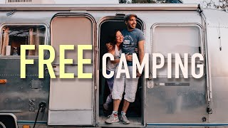 How to Find FREE RV and Van Overnight Camping