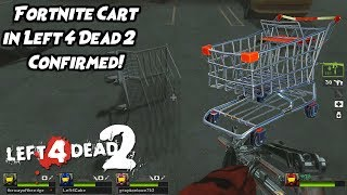 FORTNITE CART IN LEFT 4 DEAD 2! (NOT CLICKBAIT) - Left 4 Dead 2 w/Mods CHAOSTAGE