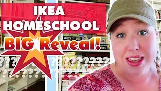 👀BIG REVEAL💥!! IKEA Shelves for Homeschooling
