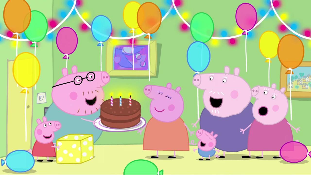времен поздравление с днем рождения со свинкой пеппой как