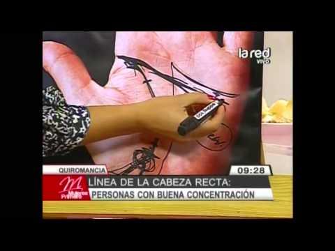 Aprenda lo que revelan las lneas de las manos: Lnea de la cabeza