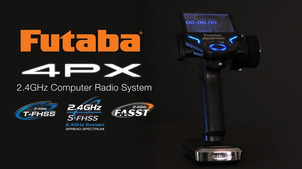 Futaba 4PX 4-Channel 2 4GHz Computer Radio System