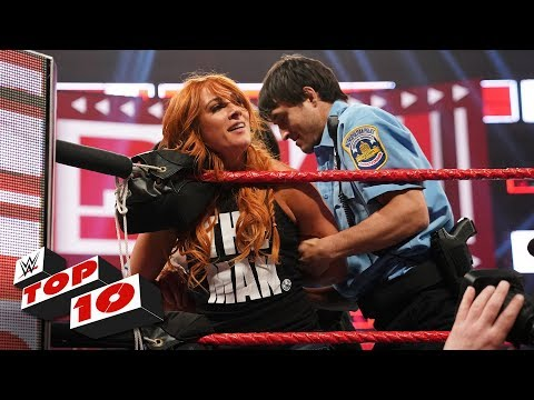 Top 10 Raw Moments: WWE Top 10, April 1, 2019