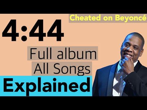 Jay Z 4:44 ALBUM full songs explained - JAY Z Talks Cheating On Beyoncé - JAY-Z - The story of O.J.