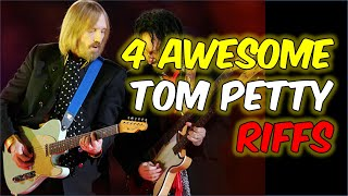 4 Awesome Tom Petty Riffs You Need to Know [Guitar Lesson]