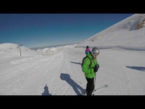 Skiing in Lebanon 2017 - Faraya - Mzaar Kfardbian