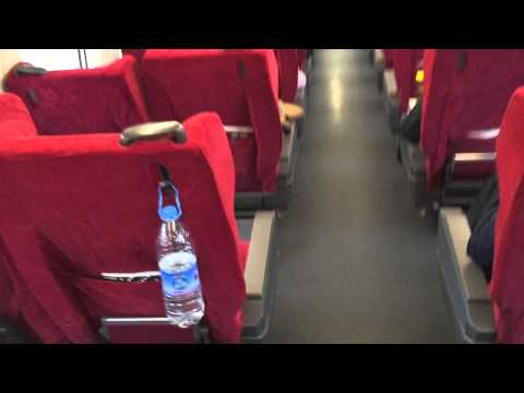 High speed train from Xian-Beijing, first class cabin. Buy tickets at airport. Office on 2nd floor