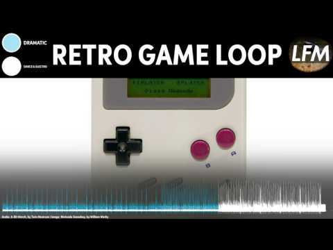 RETRO Game Background Instrumental | Royalty Free Music Loop