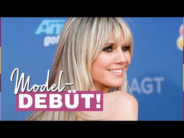Heidi Klum\: Vogue-Cover! Tochter Leni (16) startet ihre Model-Karriere