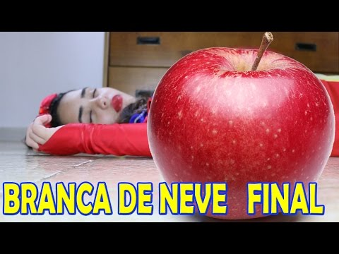 DISNEY - PRINCESAS - BRANCA DE NEVE - RAINHA MÁ - Snow White - FILME - FINAL