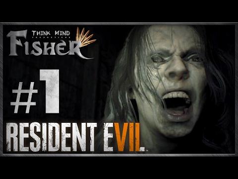 Fisher no Comando | Gameplay #01 Resident Evil 7 - Micuim na Bunda