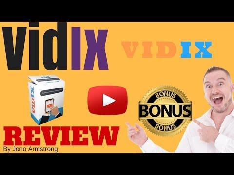 Vidix Review ⚠️WARNING⚠️ DON'T BUY VIDIX WITHOUT MY 👷CUSTOM👷 BONUSES!!