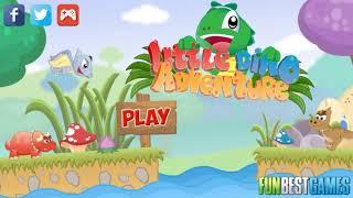 Детская Игра Мультфильм -Игра Приключение Динозавра