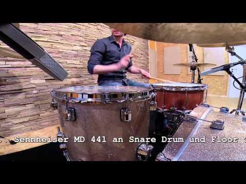 Neumann KM184 - Teil 1 - www.drumxound.de