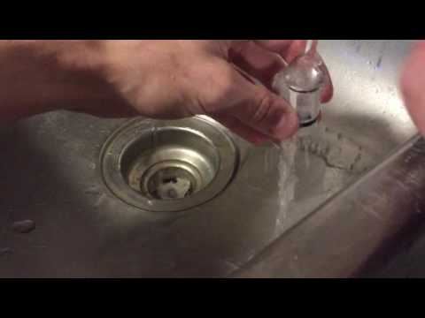Removing Glass From a Sticky Subtank