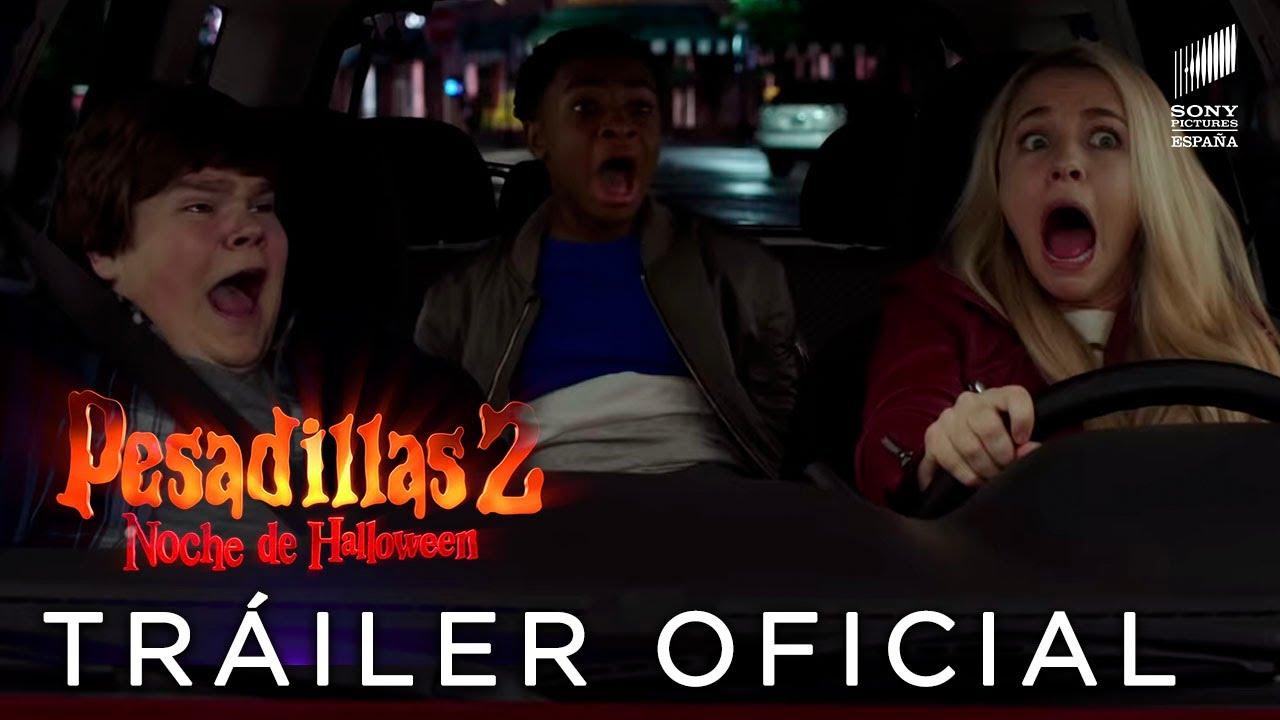 PESADILLAS 2: NOCHE DE HALLOWEEN. Tráiler Oficial HD en español. Ya en cines.