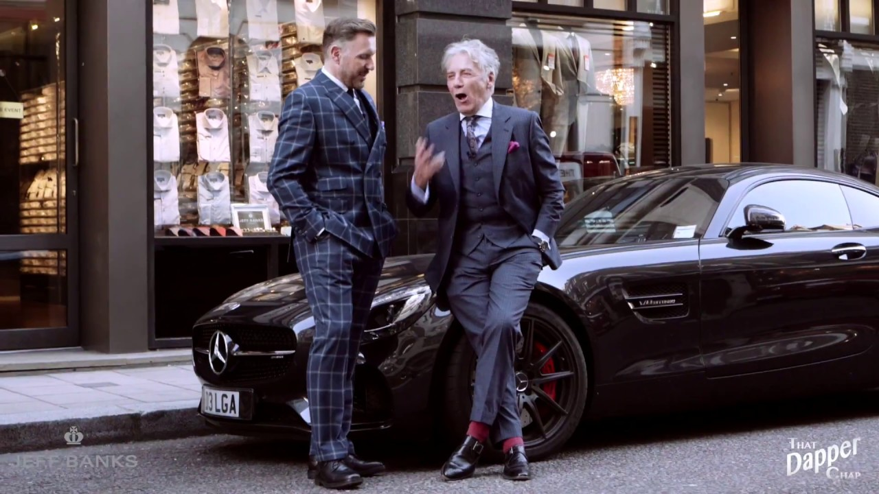 The Jeff Banks Savile Row Bespoke Suit YouTube