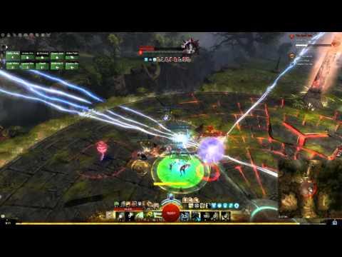 GW2 Vale Guardian Raid Boss (Druid PoV)