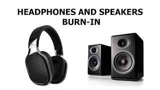 Repeat youtube video Professional Speakers and Headphones Burn In and Break in Track